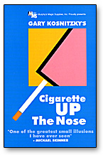 Cigarette Up The Nose by Gary Kosnitzky - Trick