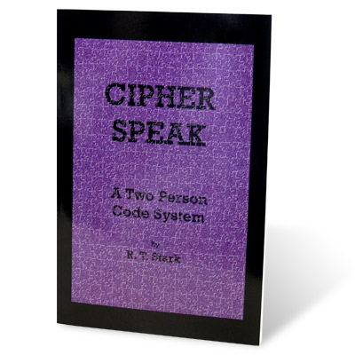 Cipher Speak (Two Person Code) by R.T. Stark - Book