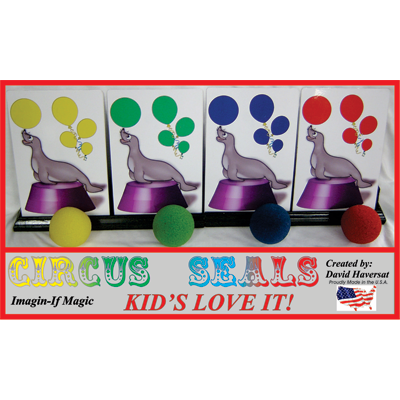 Circus Seals by Imagine-If Magic - Trick