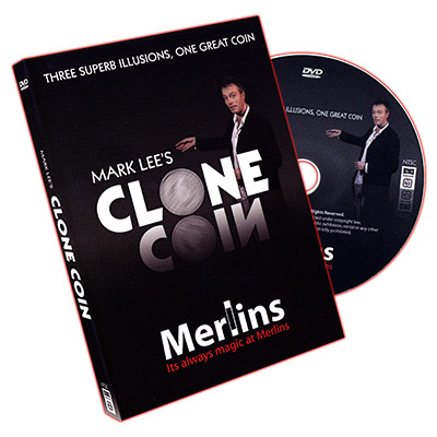 Clone Coin - US Quarter (With DVD) by Mark Lee - Trick