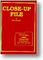 Close-up File book