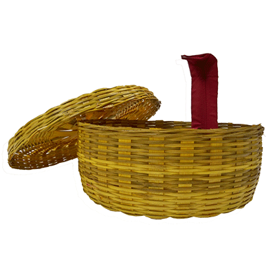 Cobra Tie in Basket (Snake Basket) by Premium Magic - Trick