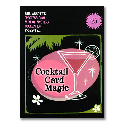 Cocktail Card Magic by Bill Abbott - Book
