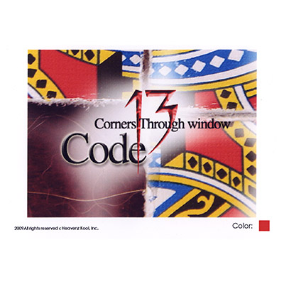 Code 13 (Corners Through Window) - Trick