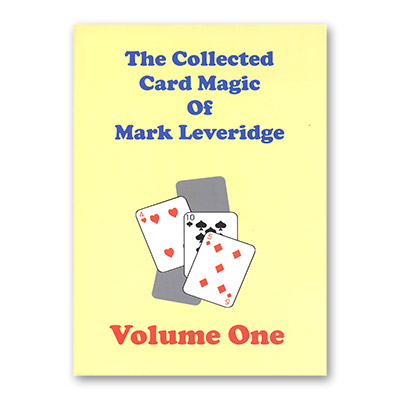 The Collected Card Trucos de Magia de Mark Leveridge Vol. 1 - Libro de Magia