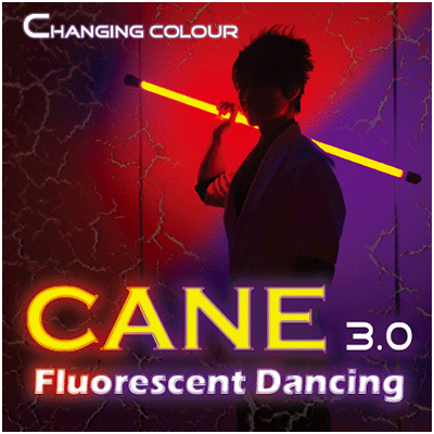 Color Changing Cane 3.0 Fluorescent Dancing (Professional two color) - Jeff Lee
