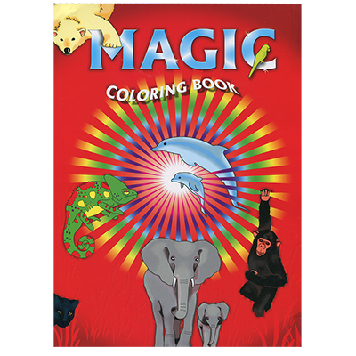 Magic Coloring Book by Di Fatta Magic - Trick
