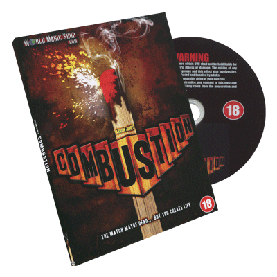 Combustion by Arron Jones and Wizard FX Productions - DVD