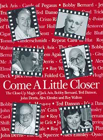 Come a Little Closer by John Denis - Book