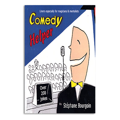 Comedy Helper by Stephane Bourgoin - Book