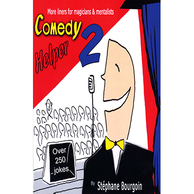 Comedy Helper 2 by Stephane Bourgoin - Book