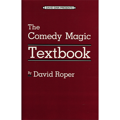 COMEDY MAGIC TEXTBOOK HB by Roper & David Ginn - Book
