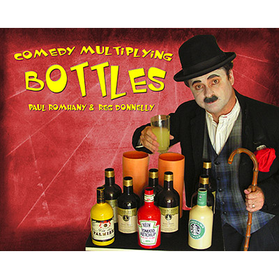 Comedy Multiplying Bottles by Reg Donnelley - Trick
