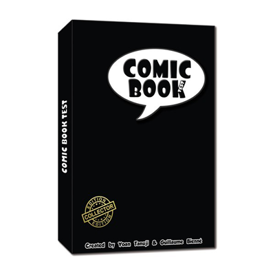 The Comic Book Test (Hard cover) by So Magic