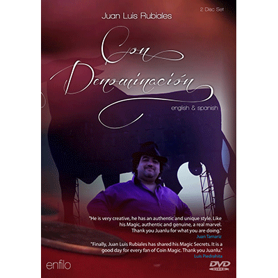 Con denominación (With guarantee of origin) (2 DVD Set) by Juan Luis Rubiales - DVD