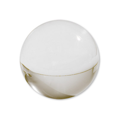 Contact Juggling Ball (Acrylic, CLEAR, 76mm) - Trick