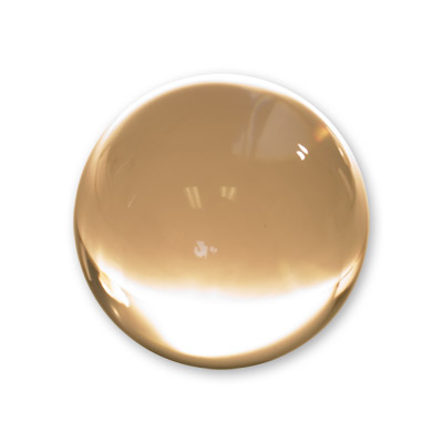 Contact Juggling Ball (Acrylic, UV, 76mm) - Trick