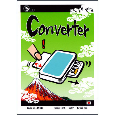 Converter (Blue) by Kreis Magic - Trick