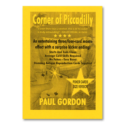 Corner of Piccadilly (Poker Size) by Paul Gordon - Trick
