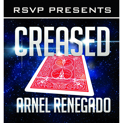 Creased (DVD and Gimmick) by Arnel Renegado and RSVP Magic - DVD