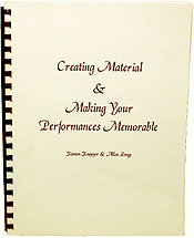 Creating Material & Making Your Perfomances Memorable - Book