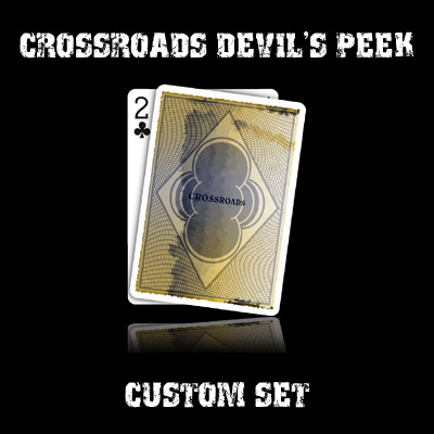 Crossroads Devil's Peek set in USPCC stock (with instructions) by Ben Harris - Trick