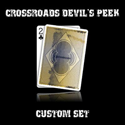 Crossroads Devil's Peek set in USPCC stock (with instructions)