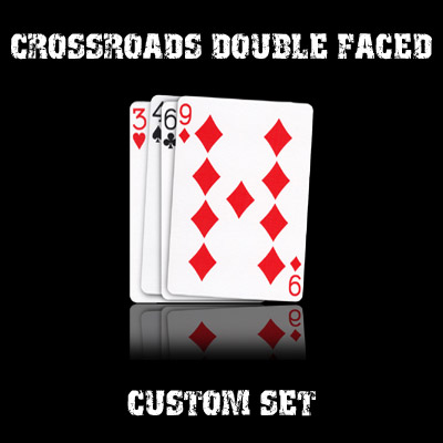 CrossRoads Double Faced set in USPCC stock (with instructions) by Ben Harris