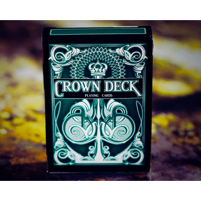 The Crown Deck (GREEN) from The Blue Crown - Tricks