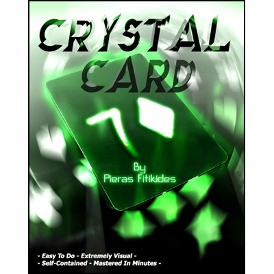 Crystal Card by Pieras Fitikides - Trick