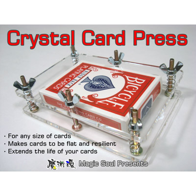 Crystal Card Press by Hondo & Fon - Trick