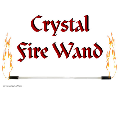 Crystal Fire Wand - Trick
