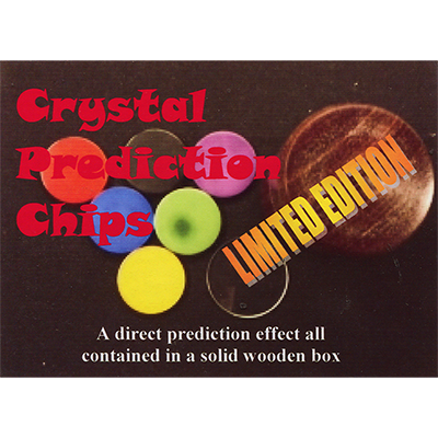 Crystal Prediction Chips - Limited Edition by Merlins Magic - Trick