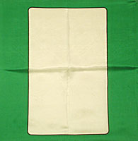 12 inch Card Silk Blank by Vincenzo Di Fatta