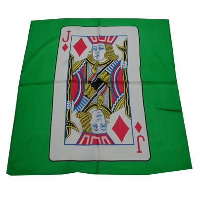 "Card Silk 18"" (jack of diamonds)"