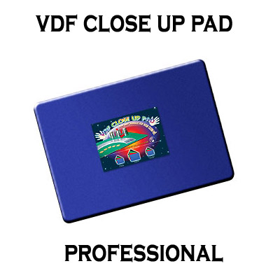 VDF Close Up Pad Professional (Blue) by Di Fatta Magic - Trick