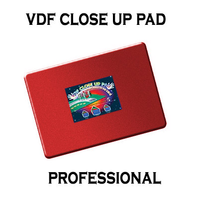 VDF Close Up Pad Professional (Red) - Di Fatta Magic