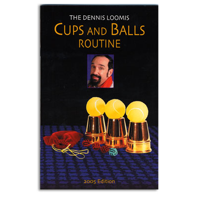 Cups and Balls book Dennis Loomis