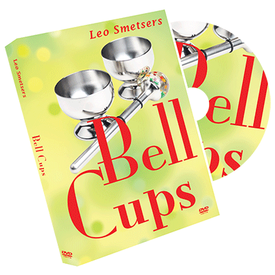 Cups & Bells (DVD & Gimmicks) - Leo Smetsers - DVD