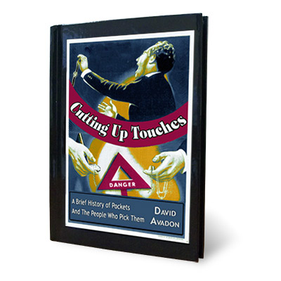 Cutting up Touches by David Avadon - Book