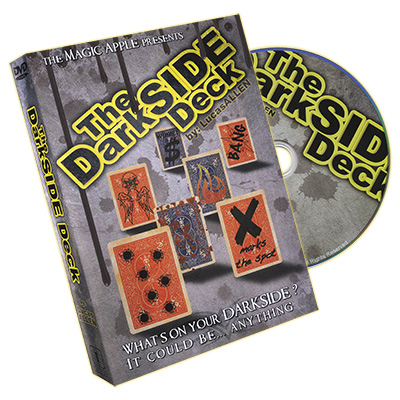 The Darkside (DVD and Gimmicks) by Lucas Allen and The Magic Apple - Trick