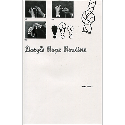 Daryl's Rope Routine - Daryl