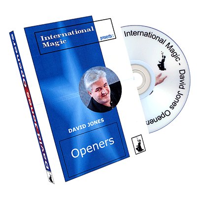 David Jones Openers by International Magic - DVD