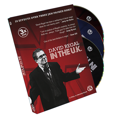 David Regal In The UK - 3 DVD Set by David Regal - DVD