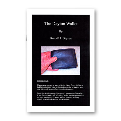 The Dayton Wallet by Ron Dayton - Book