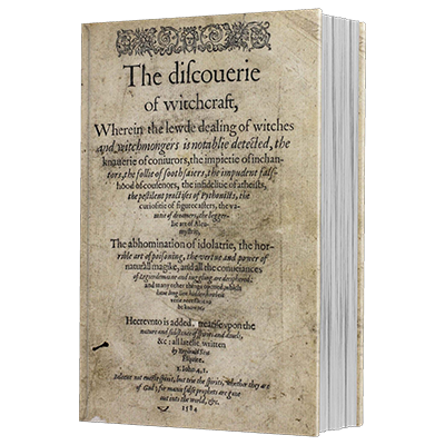 Discoverie of Withcraft by Reginald Scot and The Conjuring Arts Research Center eBook DOWNLOAD