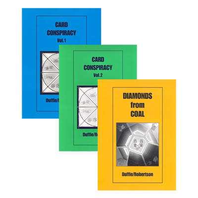 The Duffie/Robertson Trilogy (Card Conspiracy Vol. 1 and 2 and Diamonds from Coal) By Peter Duffie and Robin Robertson eBook DOWNLOAD