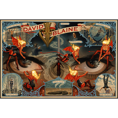 Decade Poster (Regular Edition) by David Blaine - Trick
