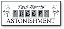 Deep Astonishment by Paul Harris - Trick
