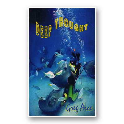 Deep Thought (Limited) by Gregory Arce - Book